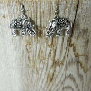 Wonderful Elephant Earrings